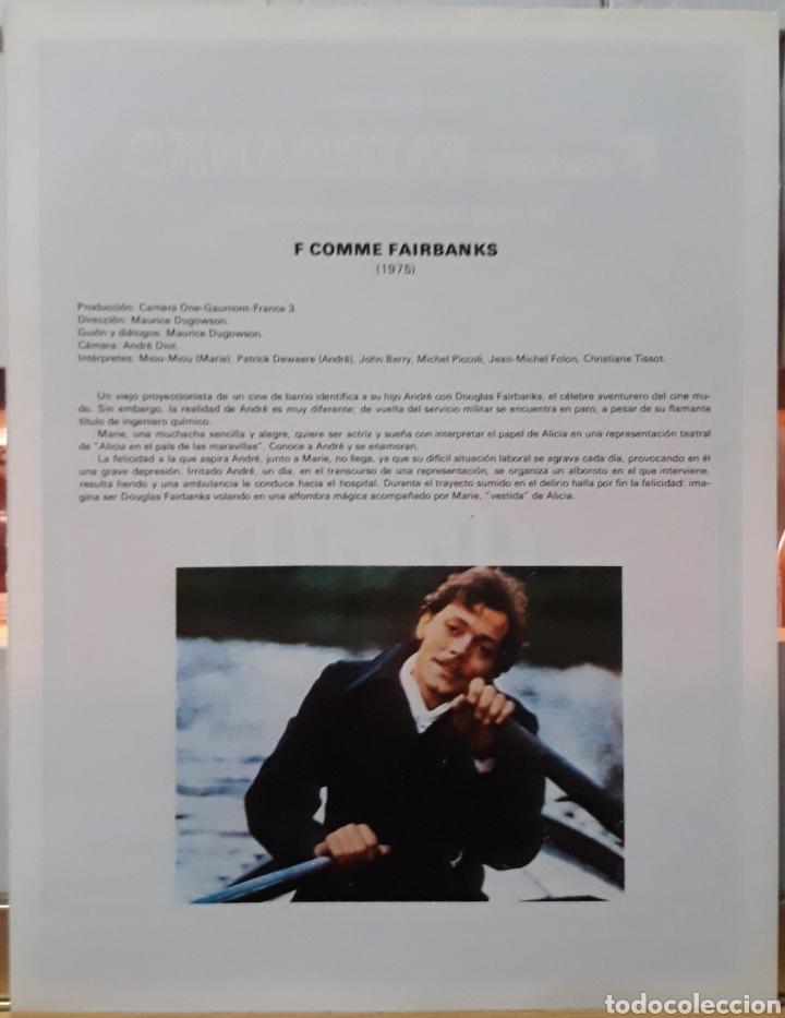Cine: Lamina cartel de cine F comme fairbanks maurice dogowson 1975 - Foto 2 - 207005645