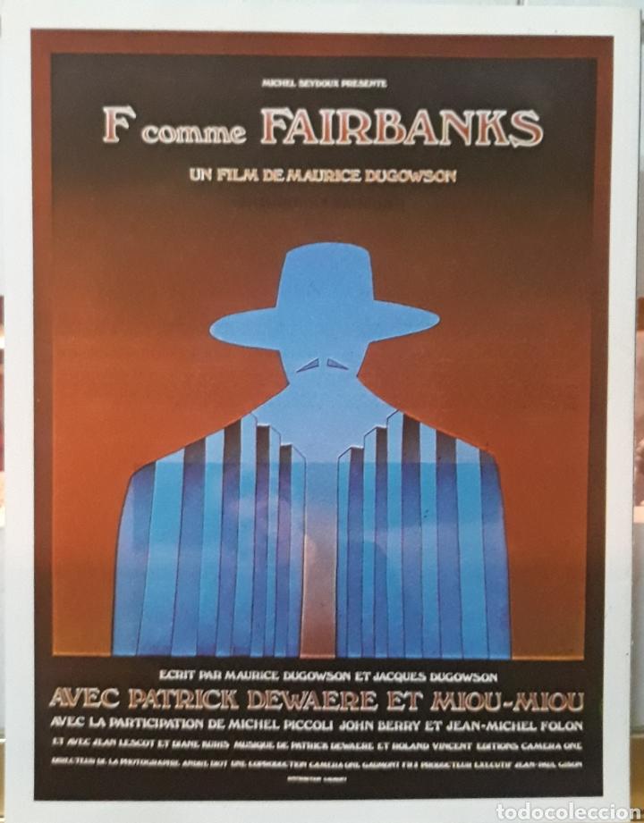 LAMINA CARTEL DE CINE F COMME FAIRBANKS MAURICE DOGOWSON 1975 (Cine - Posters y Carteles - Suspense)
