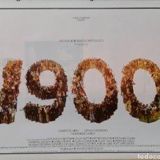 Cine: LAMINA CARTEL DE CINE 1900 BERNARDO BERTOLUCCI 1975. Lote 207006911