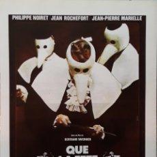 Cine: LAMINA QUE LA FETE COMMENCE BELTRAND TAVERNIER 1975. Lote 207007860