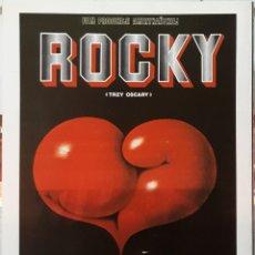 Cine: LAMINA CARTEL DE CINE ROCKY JOHN G.AVILDSEN 1976. Lote 207008890