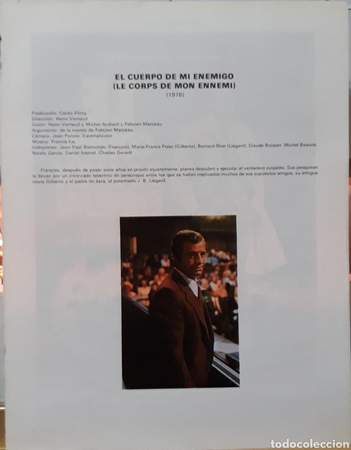 Cine: Lamina cartel de cine le corps de mon ennemi 1976 - Foto 2 - 207009527