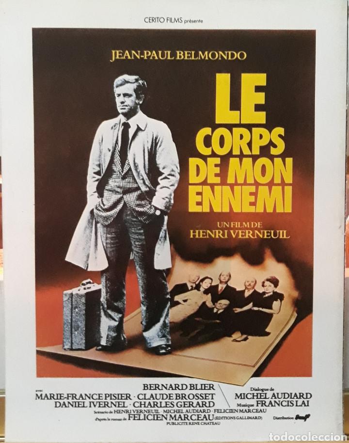 LAMINA CARTEL DE CINE LE CORPS DE MON ENNEMI 1976 (Cine - Posters y Carteles - Suspense)