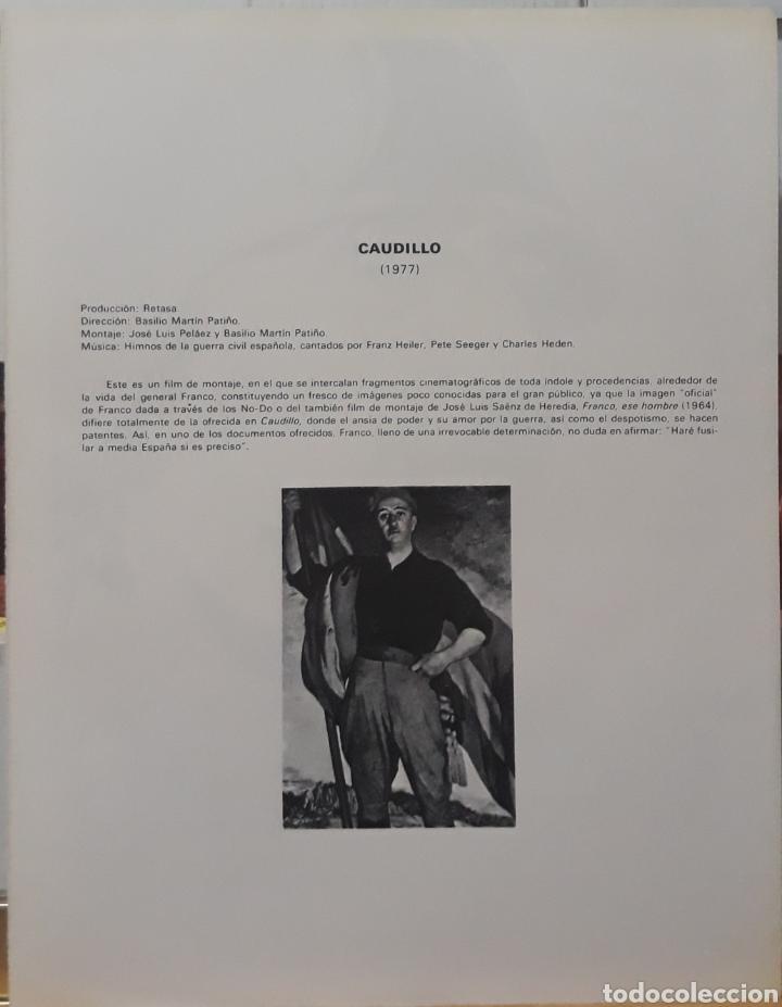 Cine: Lamina cartel de cine caudillo basilio M.patino 1977 - Foto 2 - 207049812
