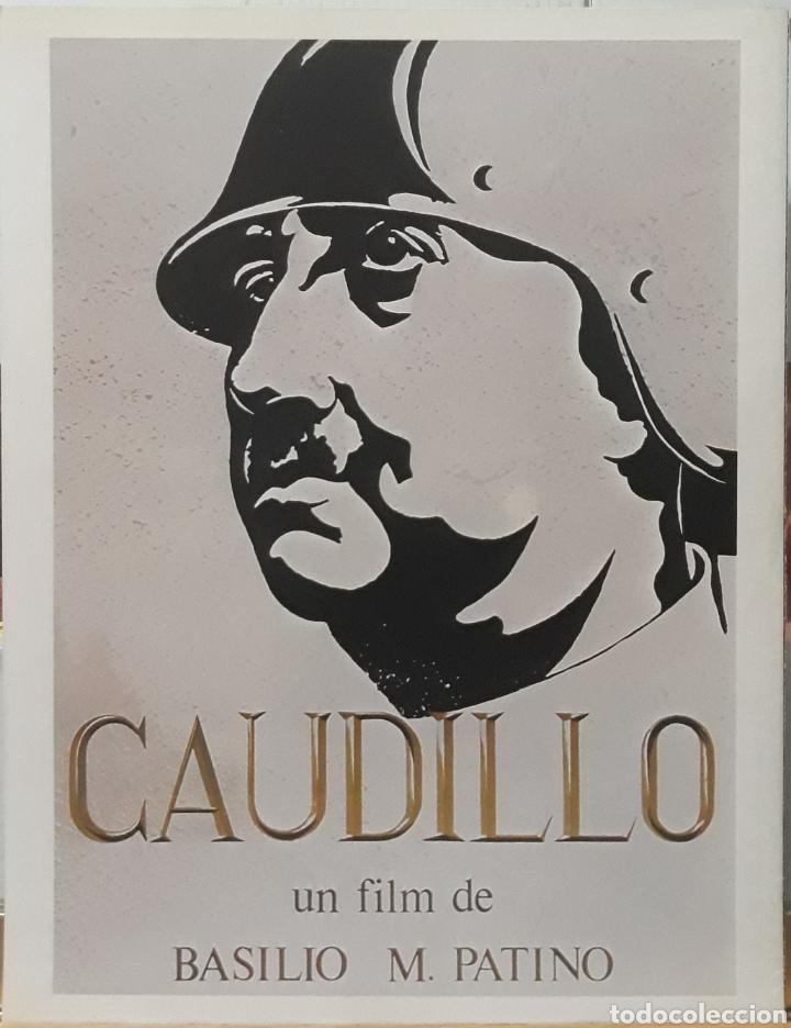 LAMINA CARTEL DE CINE CAUDILLO BASILIO M.PATINO 1977 (Cine - Posters y Carteles - Bélicas)