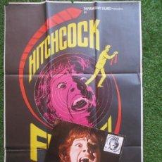 Cine: CARTEL CINE + 12 FOTOCROMOS FRENESI HITCHCOCK MAC CCF71. Lote 207101411