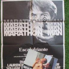 Cine: CARTEL CINE + 12 FOTOCROMOS MARATHON MAN DUSTIN HOFFMAN 1976 CCF72. Lote 207101911