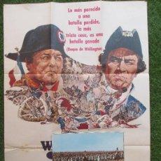Cine: CARTEL CINE + 12 FOTOCROMOS WATERLOO ROD STEIGER CHRISTOPHER PLUMMER 1970 CCF76. Lote 207104592