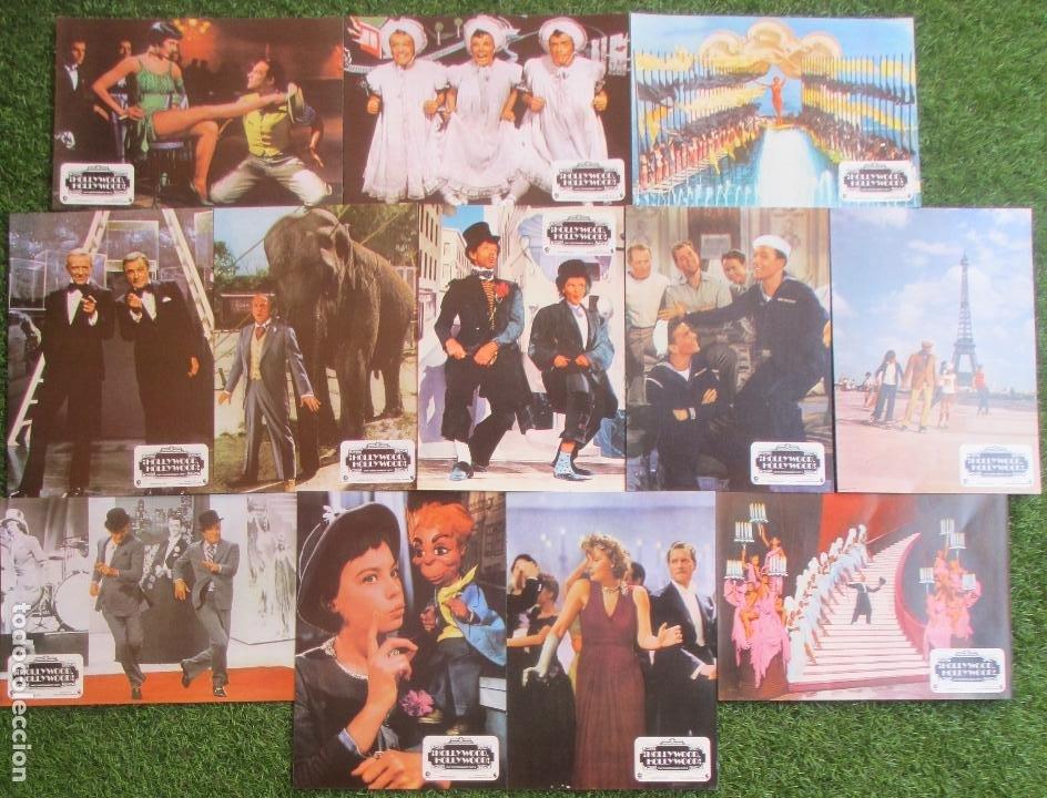 Cine: CARTEL CINE + 12 FOTOCROMOS ¡HOLLYWOOD, HOLLYWOOD! PART 2 FRED ASTAIRE GENE KELLY 1977 CCF77 - Foto 3 - 207105277