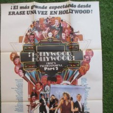 Cine: CARTEL CINE + 12 FOTOCROMOS ¡HOLLYWOOD, HOLLYWOOD! PART 2 FRED ASTAIRE GENE KELLY 1977 CCF77. Lote 207105277