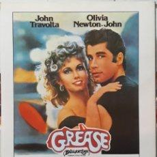 Cine: LAMINA CARTEL DE CINE GREASE RANDAL KLEISER 1978. Lote 207108197