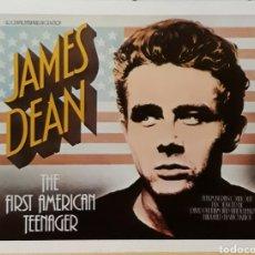 Cine: LAMINA CARTEL DE CINE JAMES DEAN THE FIRST AMERICAN TEENAGER. Lote 207154415