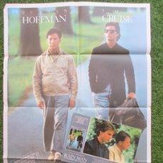 Cine: CARTEL CINE + 12 FOTOCROMOS RAIN MAN EL HOMBRE DE LA LLUVIA 1988 CCF80. Lote 207157245