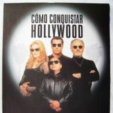 Cine: COMO CONQUISTAR HOLLYWOOD, CON JOHN TRAVOLTA. POSTER. 1995. TAMAÑO 67 X 97,5 CMS.. Lote 207161512