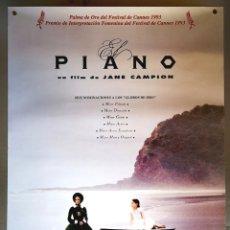 Cine: EL PIANO - 1993 - 68 X 98. Lote 207172861