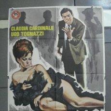 Cine: CDO 2799 CELOS A LA ITALIANA CLAUDIA CARDINALE UGO TOGNAZZI POSTER ORIGINAL 70X100 ESTRENO. Lote 207176352