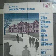 Cine: CDO 2806 LOS SIETE LOCOS LEOPOLDO TORRE NILSSON HECTOR ALTERIO POSTER ORIGINAL 70X100 ESTRENO. Lote 207187291