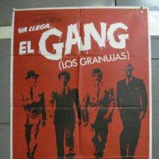 Cine: CDO 2807 EL GANG LOS GRANUJAS ALAIN DELON POSTER ORIGINAL 70X100 ESTRENO. Lote 207187635
