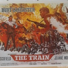 Cine: LAMINA CARTEL DE CINE THE TRAIN BURT LANCASTER 1964. Lote 207203983