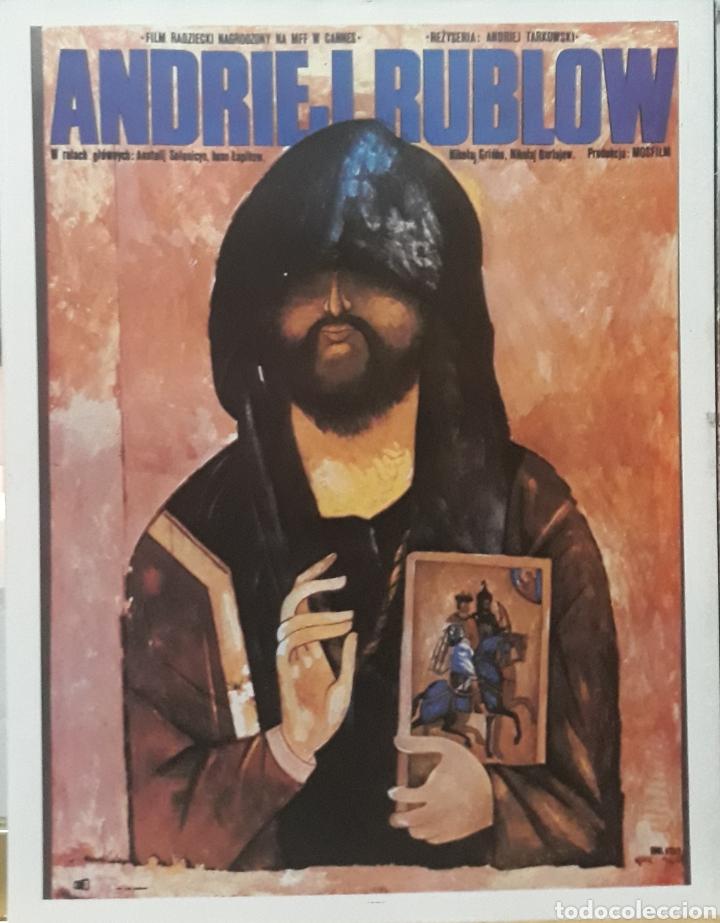 LAMINA CARTEL DE CINE ANDRIEJ RUBLOW (Cine - Posters y Carteles - Suspense)