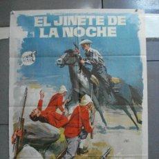 Cine: CDO 2824 EL JINETE DE LA NOCHE ANNETTE VILLIERS BRIAN O'SHAUGHNESSY POSTER ORIGINAL 70X100 ESTRENO. Lote 207207990