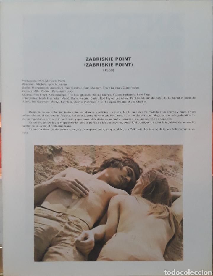 Cine: Lamina cartel de cine zabriskie point michelangelo antonioni 1969 - Foto 2 - 233087240