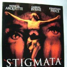Cine: STIGMATA, CON PATRICIA ARQUETTE. POSTER 68 X 97 CMS. 1999.. Lote 207237253