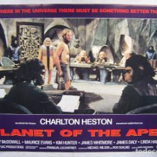 Cinema: PLANET OF THE APES (EL PLANETA DE LOS SIMIOS), CON CHARLTON HESTON. POSTER 61 X 86 CMS... Lote 207239447