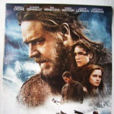 Cine: NOÉ, CON RUSSELL CROWE. POSTER 68 X 98 CMS. 2014. Lote 207240792