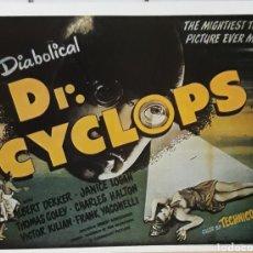 Cine: LAMINA CARTEL DE CINE DOCTOR CYCLOPS ERNEST B.SCHOEDSACK 1940. Lote 207252727