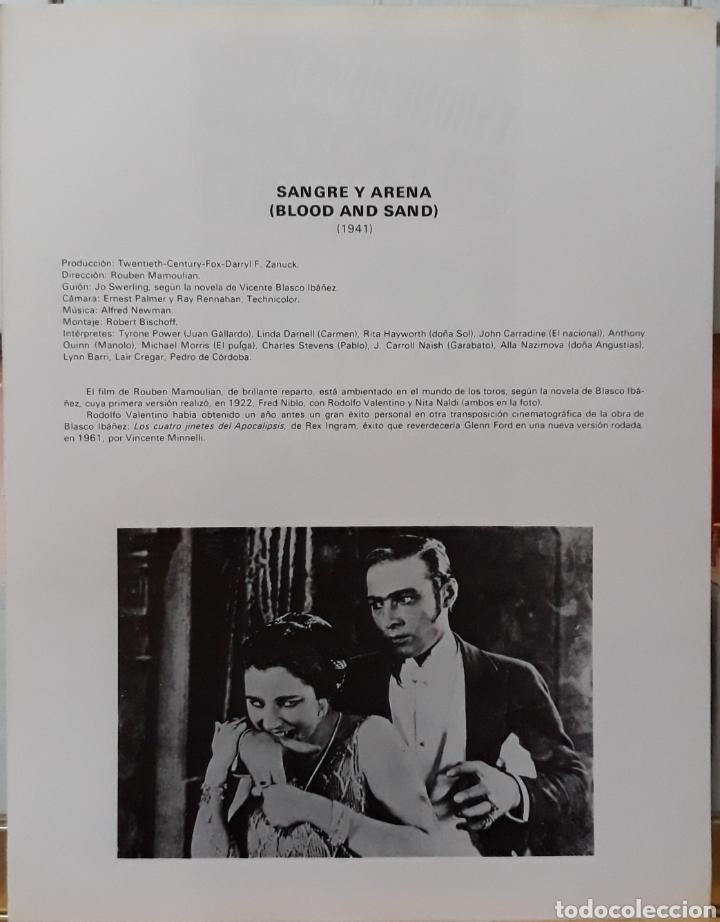 Cine: Lamina cartel de cine blood and Sand Rouben mamoulian 1941 - Foto 2 - 207253022