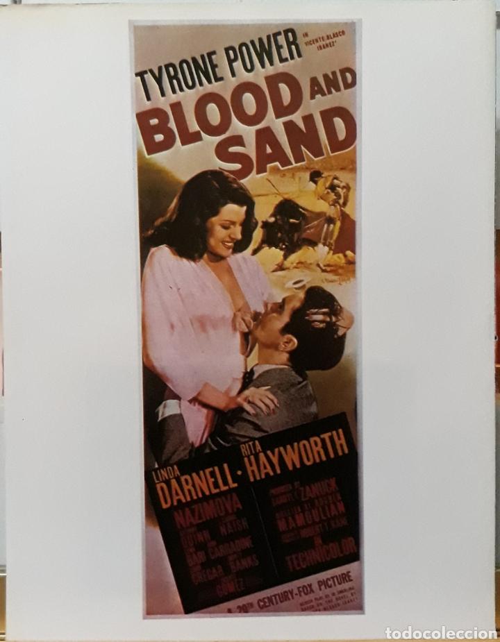 LAMINA CARTEL DE CINE BLOOD AND SAND ROUBEN MAMOULIAN 1941 (Cine- Posters y Carteles - Drama)