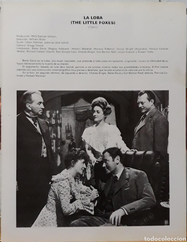 Cine: Lamina cartel de cine the little foxes William Wyler 1941 - Foto 2 - 207253115