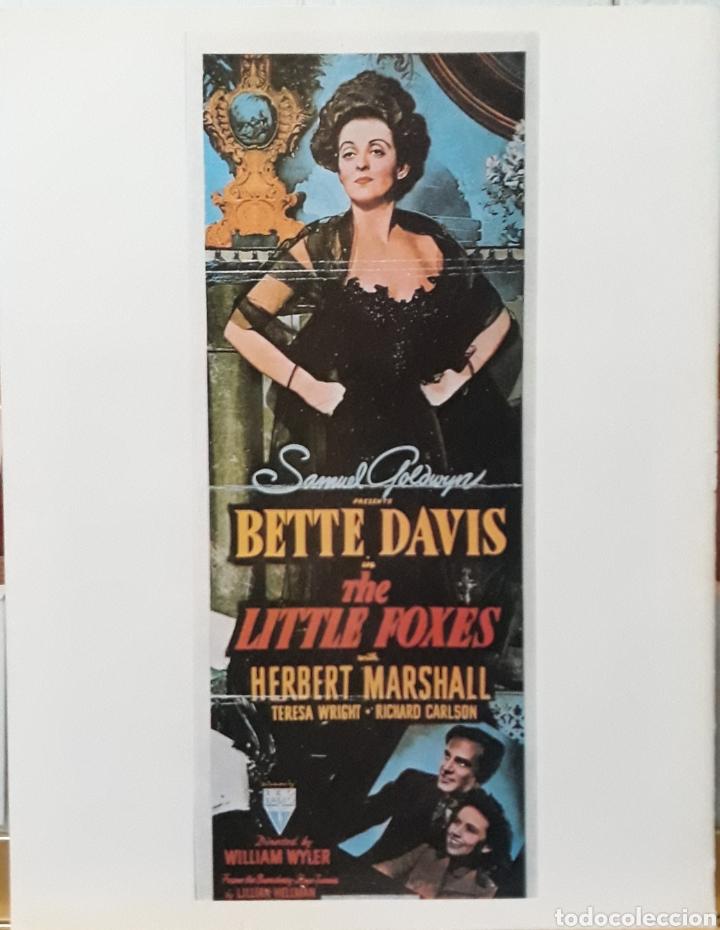 LAMINA CARTEL DE CINE THE LITTLE FOXES WILLIAM WYLER 1941 (Cine- Posters y Carteles - Drama)