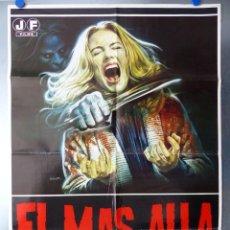 Cinéma: POSTER - EL MAS ALLA, LUCIO FULCI - AÑO 1981. Lote 207459870