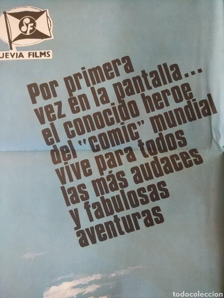 Cine: Cartel original Estreno cines en España película: EL HOMBRE ARAÑA (SPIDERMAN) Año: 1977 - Foto 5 - 207554757