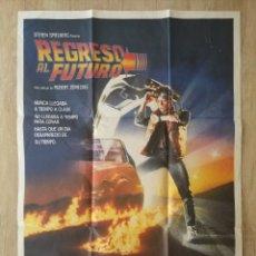 Cine: CARTEL ORIGINAL ESTRENO CINES EN ESPAÑA PELÍCULA REGRESO AL FUTURO (BACK TO THE FUTURE). Lote 207619603