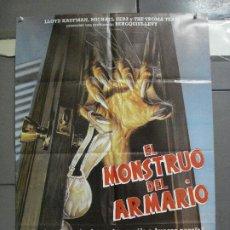 Cine: CDO 2934 EL MONSTRUO DEL ARMARIO TROMA POSTER ORIGINAL 70X100 ESTRENO. Lote 207692160