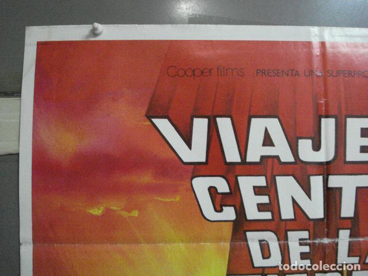 Cine: CDO 2945 VIAJE AL CENTRO DE LA TIERRA JAMES MASON JULIO VERNE MATAIX POSTER ORG 70X100 ESPAÑOL R-80s - Foto 2 - 207701861
