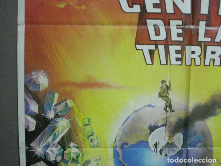 Cine: CDO 2945 VIAJE AL CENTRO DE LA TIERRA JAMES MASON JULIO VERNE MATAIX POSTER ORG 70X100 ESPAÑOL R-80s - Foto 3 - 207701861