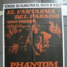 Cine: CDO 2946 EL FANTASMA DEL PARAISO MARTIN SCORCESE POSTER ORIGINAL 70X100 ESTRENO. Lote 207704220