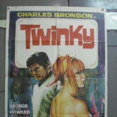 Cine: CDO 2957 TWINKY CHARLES BRONSON SUSAN GEORGE RICHARD DONNER POSTER ORIGINAL 70X100 ESTRENO. Lote 207725722