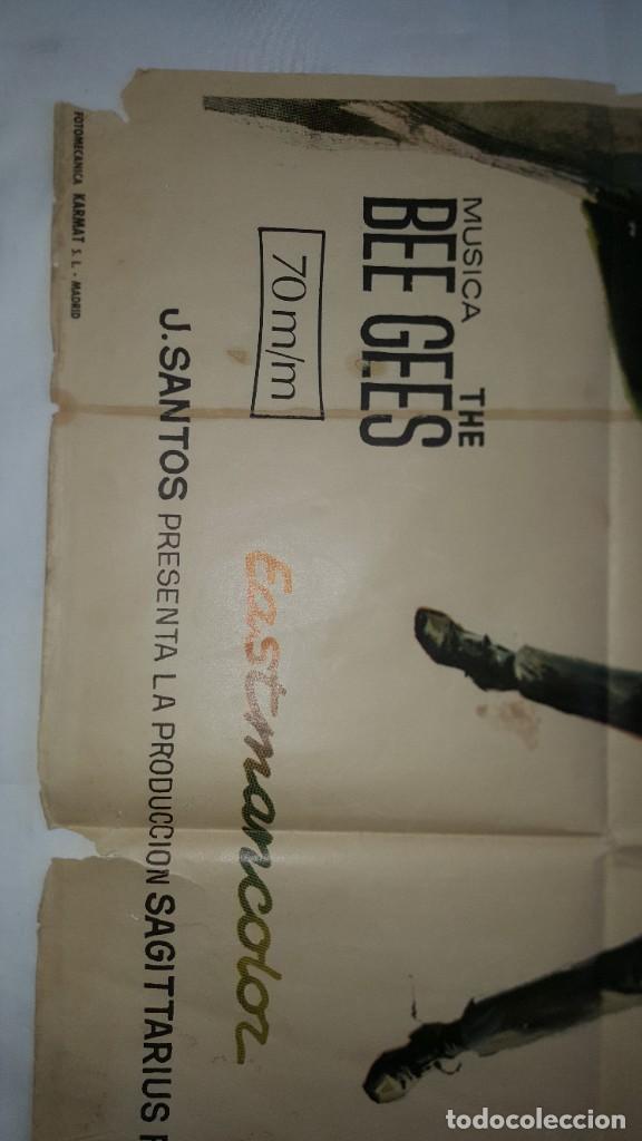 Cine: PÓSTER ORIGINAL MELODY 1971 Jack Wikd. Bee Gees - Foto 2 - 207860912