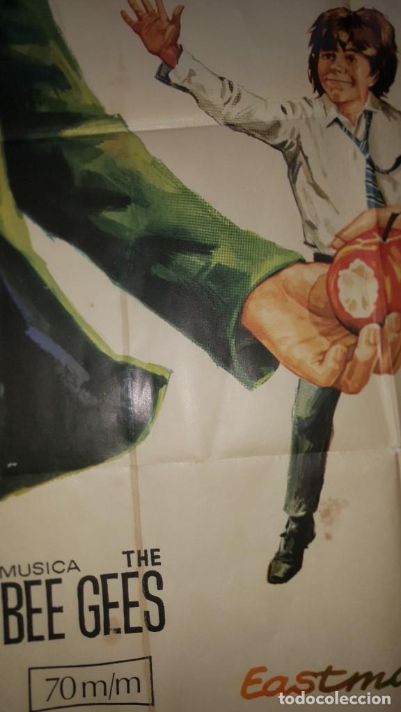Cine: PÓSTER ORIGINAL MELODY 1971 Jack Wikd. Bee Gees - Foto 4 - 207860912