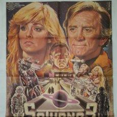 Cine: PÓSTER ORIGINAL SATURNO 3 (1979) KIRK DOUGLAS. Lote 207862447