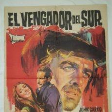 Cine: PÓSTER ORIGINAL EL VENGADOR DEL SUR (1969). Lote 207864356