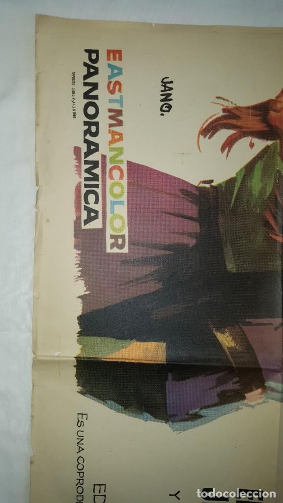 Cine: PÓSTER ORIGINAL EL VENGADOR DEL SUR (1969) - Foto 2 - 207864356