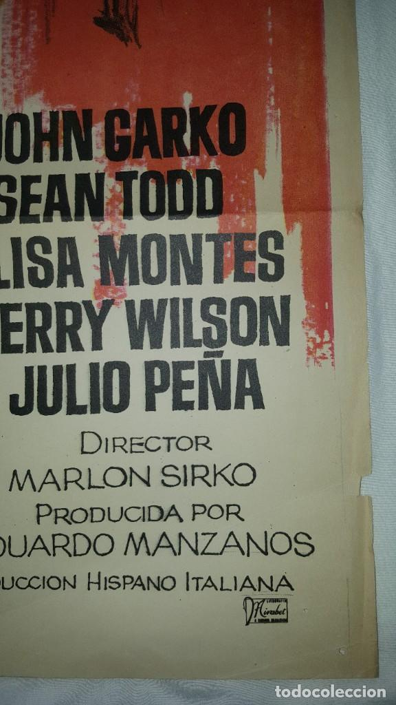 Cine: PÓSTER ORIGINAL EL VENGADOR DEL SUR (1969) - Foto 3 - 207864356