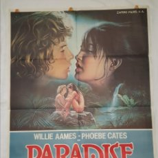 Cine: PÓSTER ORIGINAL PARADISE (1982). Lote 207864673