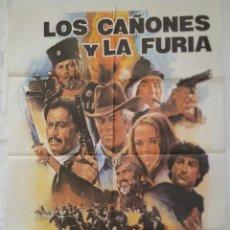 Cine: PÓSTER ORIGINAL LOS CAÑONES Y LA FURIA 1983. Lote 207865525